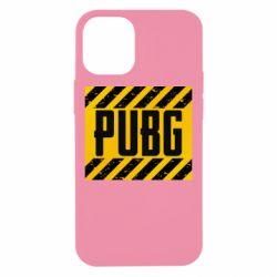 Чехол для iPhone 12 mini PUBG and stripes