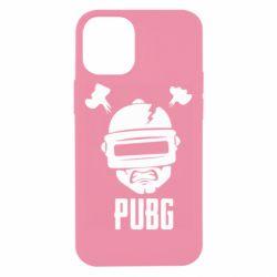 Чехол для iPhone 12 mini PUBG: hero face