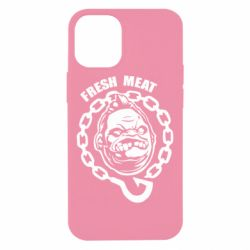 Чехол для iPhone 12 mini Pudge Fresh Meat