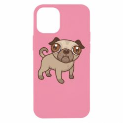 Чехол для iPhone 12 mini Pug