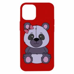 Чохол для iPhone 12 mini Purple Teddy Bear