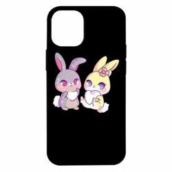 Чохол для iPhone 12 mini Rabbits In Love