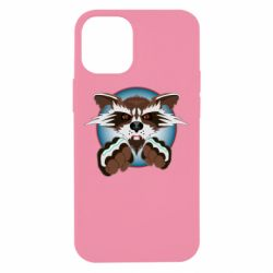 Чохол для iPhone 12 mini Raccoons and fists