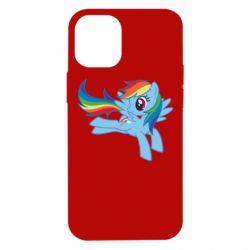 Чохол для iPhone 12 mini Rainbow Dash run