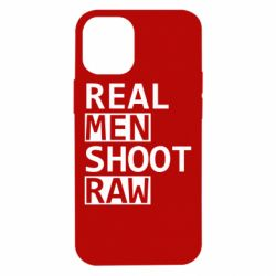Чохол для iPhone 12 mini Real Men Shoot RAW