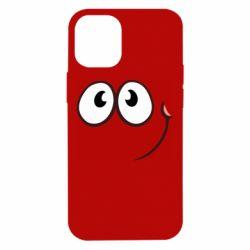Чохол для iPhone 12 mini Red ball smile