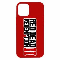 Чохол для iPhone 12 mini Red Dead Redemption logo