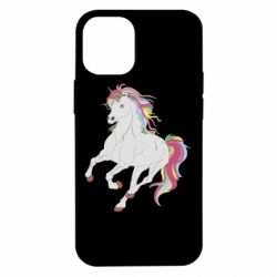 Чохол для iPhone 12 mini Red eye unicorn