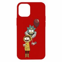 Чехол для iPhone 12 mini Rick and Morty: It 2