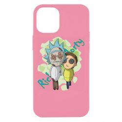 Чохол для iPhone 12 mini Rick and Morty voodoo doll