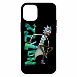 Чохол для iPhone 12 mini Rick and text Morty