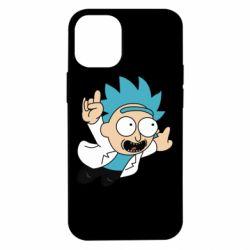 Чехол для iPhone 12 mini Rick is flying