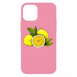 Чохол для iPhone 12 mini Ripe lemons