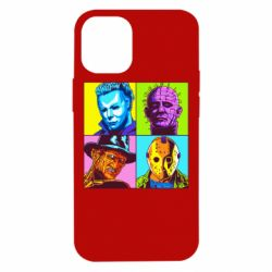 Чехол для iPhone 12 mini Rippers from horror movies