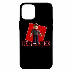 Чехол для iPhone 12 mini Roblox Builderman