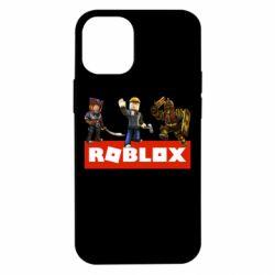 Чехол для iPhone 12 mini Roblox Heroes
