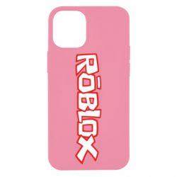 Чехол для iPhone 12 mini Roblox logo