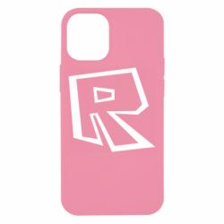 Чохол для iPhone 12 mini Roblox minimal logo