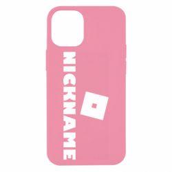 Чохол для iPhone 12 mini Roblox Your Nickaneme