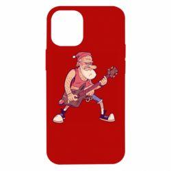 Чохол для iPhone 12 mini Rock'n'roll Santa