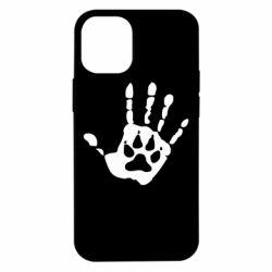 Чехол для iPhone 12 mini Рука волка
