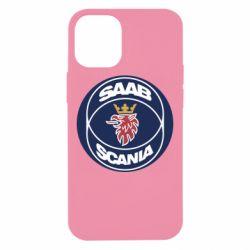 Чехол для iPhone 12 mini SAAB Scania