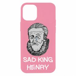 Чехол для iPhone 12 mini Sad king henry