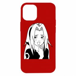 Чехол для iPhone 12 mini Sakura girl