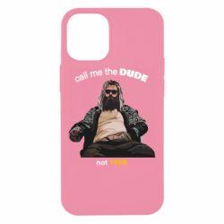 Чехол для iPhone 12 mini Сall me the DUDE not THOR