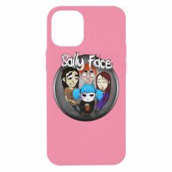 Чехол для iPhone 12 mini Sally face soundtrack