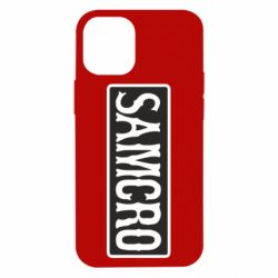 Чохол для iPhone 12 mini Samcro Oroginal Logo