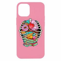 Чохол для iPhone 12 mini Сandy inside the skeleton