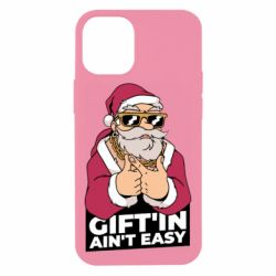 Чехол для iPhone 12 mini Santa gangster