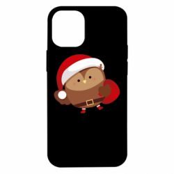 Чехол для iPhone 12 mini Santa Owl