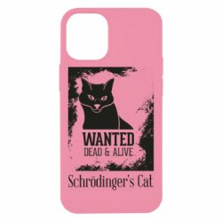 Чохол для iPhone 12 mini Schrödinger's cat is wanted