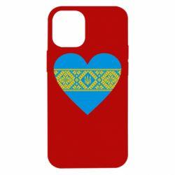 Чехол для iPhone 12 mini Серце України