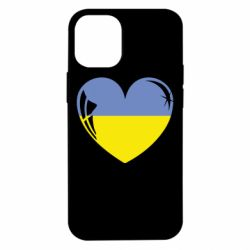 Чохол для iPhone 12 mini Серце України
