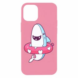 Чохол для iPhone 12 mini Shark and Lifebuoy