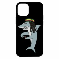 Чохол для iPhone 12 mini Shark Rastaman