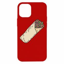 Чехол для iPhone 12 mini Шаурма