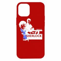 Чехол для iPhone 12 mini Sherlock (Шерлок Холмс)