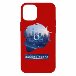 Чохол для iPhone 12 mini Silhouette City Detroit: Become Human