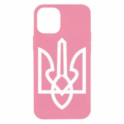 Чехол для iPhone 12 mini Simple coat of arms with sharp corners