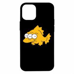Чохол для iPhone 12 mini Simpsons three eyed fish