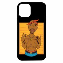 Чохол для iPhone 12 mini Singer Tupac Shakur