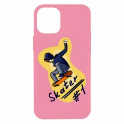 Чехол для iPhone 12 mini Skater vector