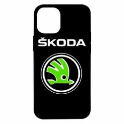 Чехол для iPhone 12 mini Skoda Bird