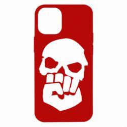 Чехол для iPhone 12 mini Skull and Fist
