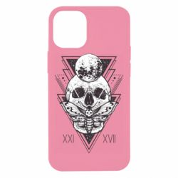 Чохол для iPhone 12 mini Skull with insect