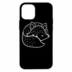 Чохол для iPhone 12 mini Sleeping fox